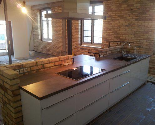 Küche in ehemaliger Schmiede